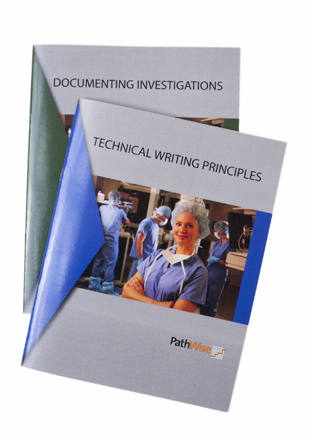 Technical Writing and Documenting Investigations Training Booklet